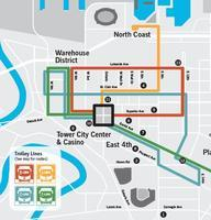RTA Trolley Map           Follow @nyccitiview