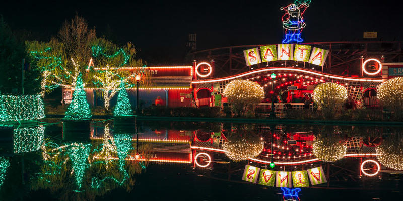 Kennywood's Holiday Lights