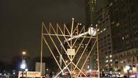 Lighting of the World's Largest Hanukkah Menorah