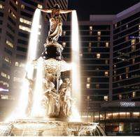 Fountain Square and Tyler Davidson Fountain in Downtown Cincinnati           Follow @nyccitiview
