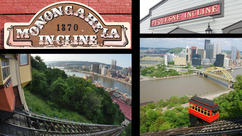 Duquesne Incline vs. Monongahela Incline in Pittsburgh