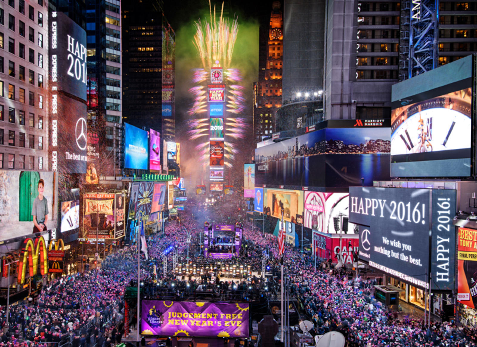 Ring in the New Year in New York City