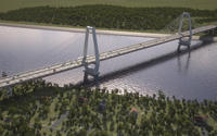 Lewis and Clark Bridge Opens East End Crossing in Louisville            Follow @nyccitiview