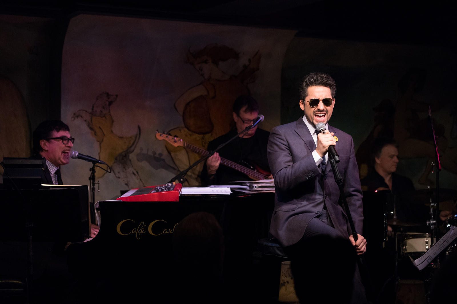 John Lloyd Young, Cafe Carlyle Historic Manhattan Jazz Club