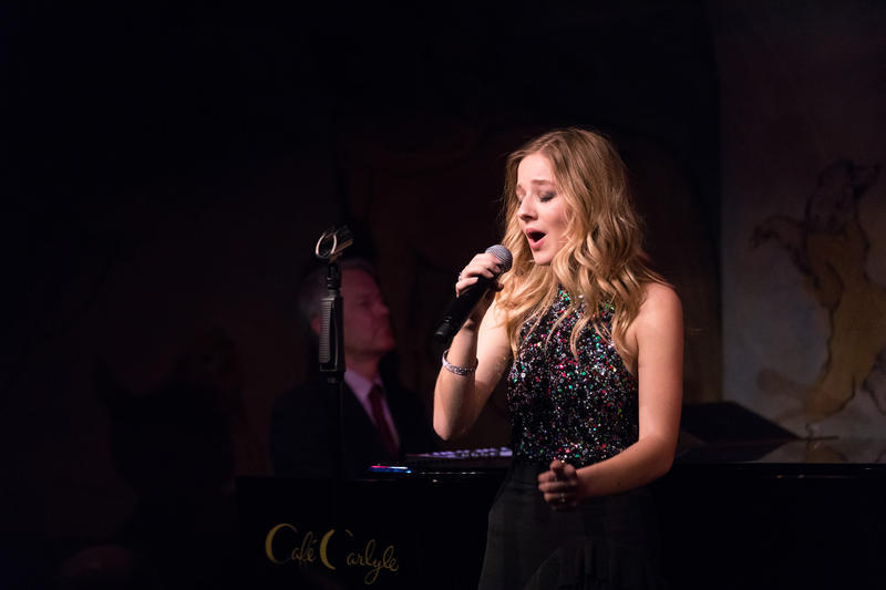 Jackie Evancho Performs at Cafe Carlyle in NYC Thru April 22
