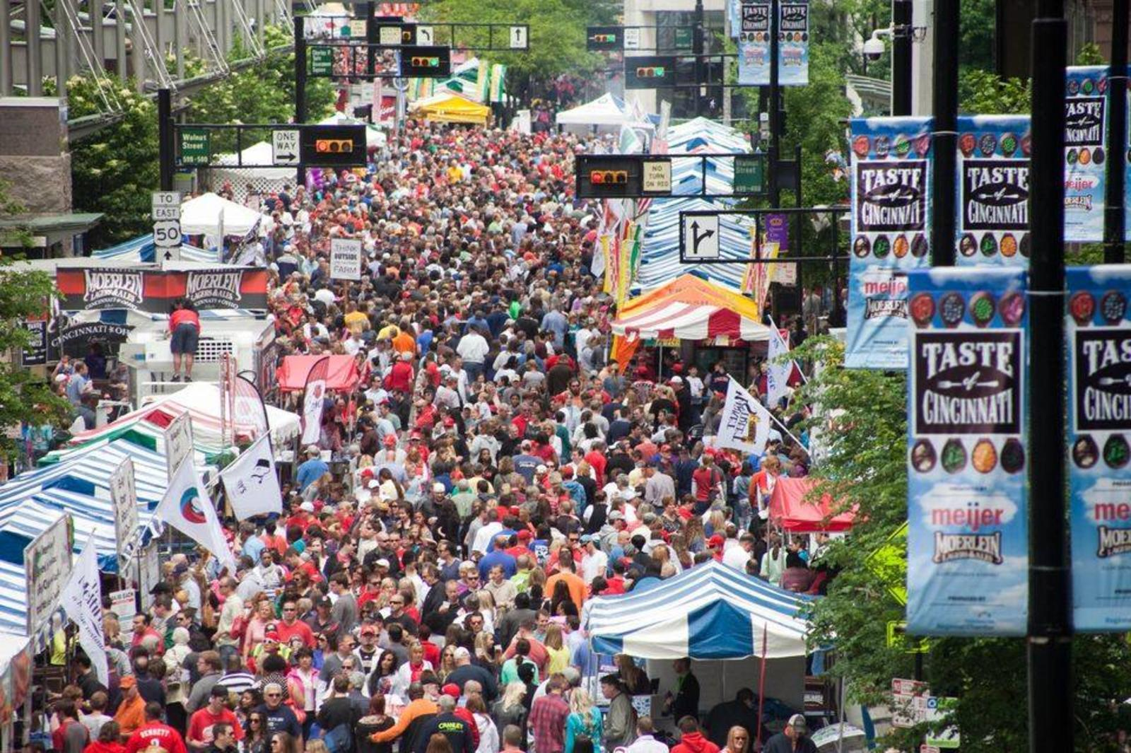 Taste of Cincinnati: The Longest-Running Food Festival in the U.S.