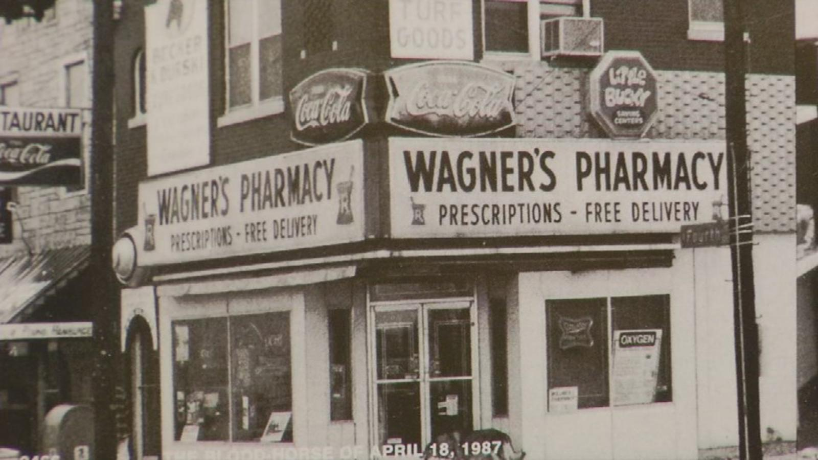 Wagner's Pharmacy and the Kentucky Derby Museum in Louisville
