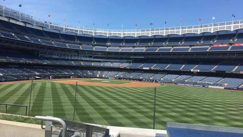 Yankee Stadium from the Centerfield Bleachers