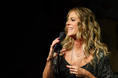 Rita Wilson at Cafe Carlyle