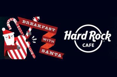 Breakfast with Santa 2017 at the Hard Rock Cafe
