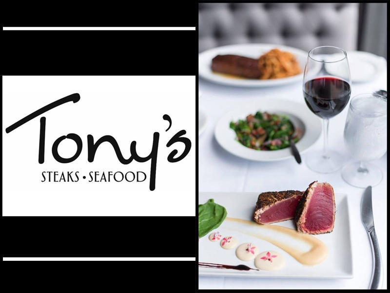 Valentine's Day with Tony's Steak and Seafood