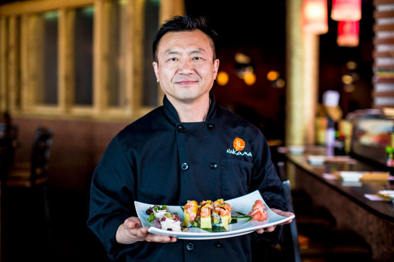 Chef Sang Woo: Nakama Japanese Steakhouse & Sushi Bar