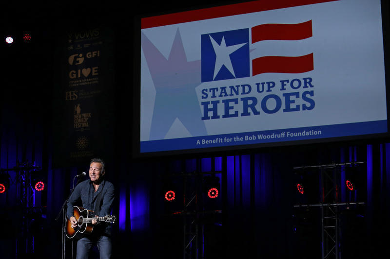 Bruce Springsteen at Stand Up for Heroes Concert