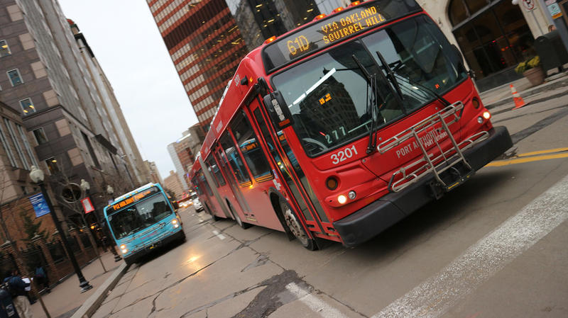 Bus Service in Downtown Pittsburgh