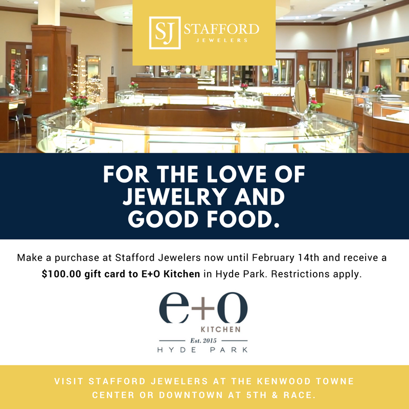 Stafford Jewelers E+O Kitchen Giveaway