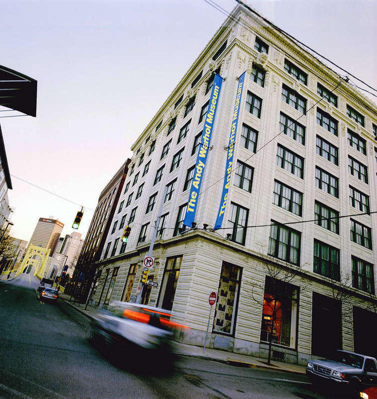 The Andy Warhol Museum Exterior, Photo by Ric Evans