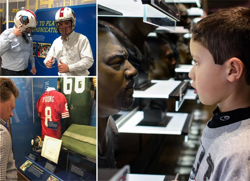 America's Playing Field: Visit the Pro Football Hall of Fame in Canton, Ohio