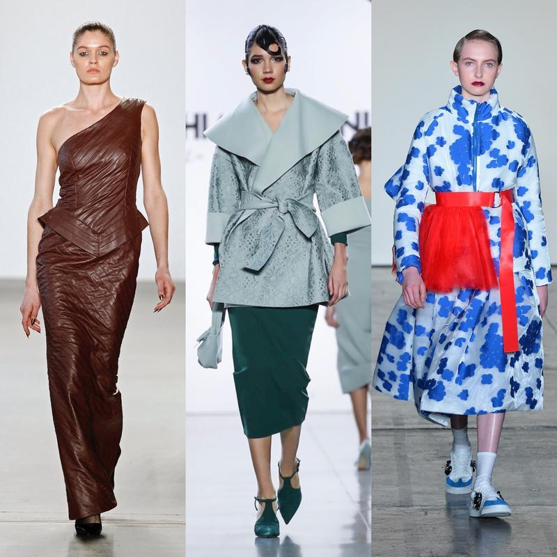 Left to Right: Jxy n Cuso - Seventh House; Chiara Boni la Petite Robe - Now Fashion; Heaven Please + The Riviere Agency