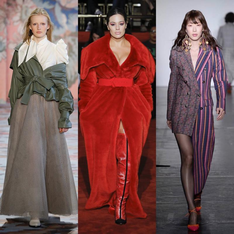 Left to Right: Zimmermann - Vogue Runway; Christian Siriano - Vogue Runway; Helen Anthony