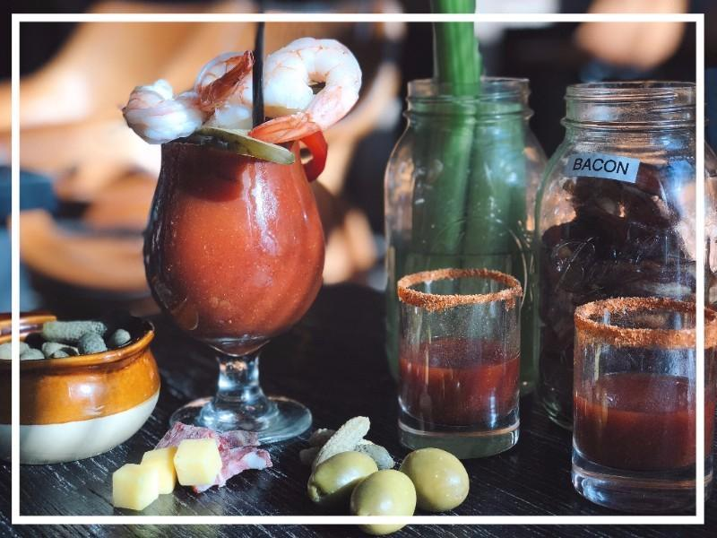 Bottomless Build Your Own Bloody Mary Station