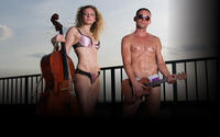 The Skivvies at the Green Room 42           Follow @nyccitiview
