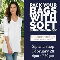 Sip and Shop at Soft Surroundings!
