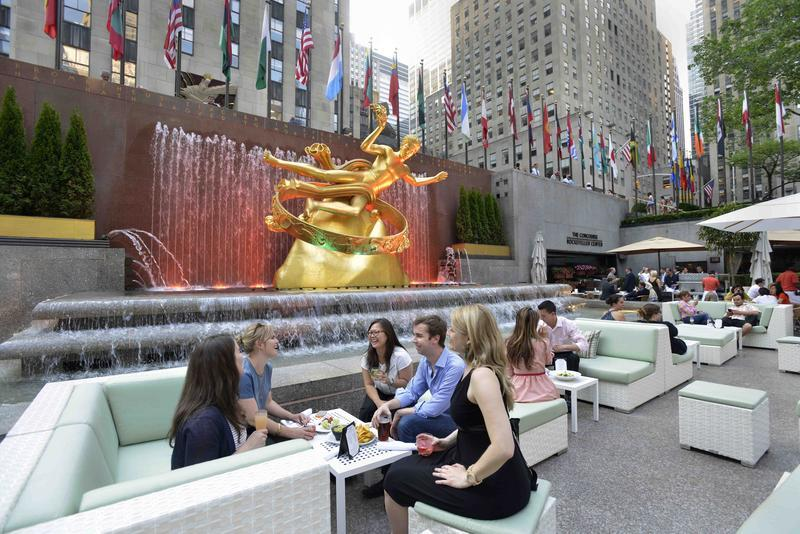 Summer Garden Bar At Rockefeller Center Nyc Al Fresco Dining In Nyc Citiview Travel Guide
