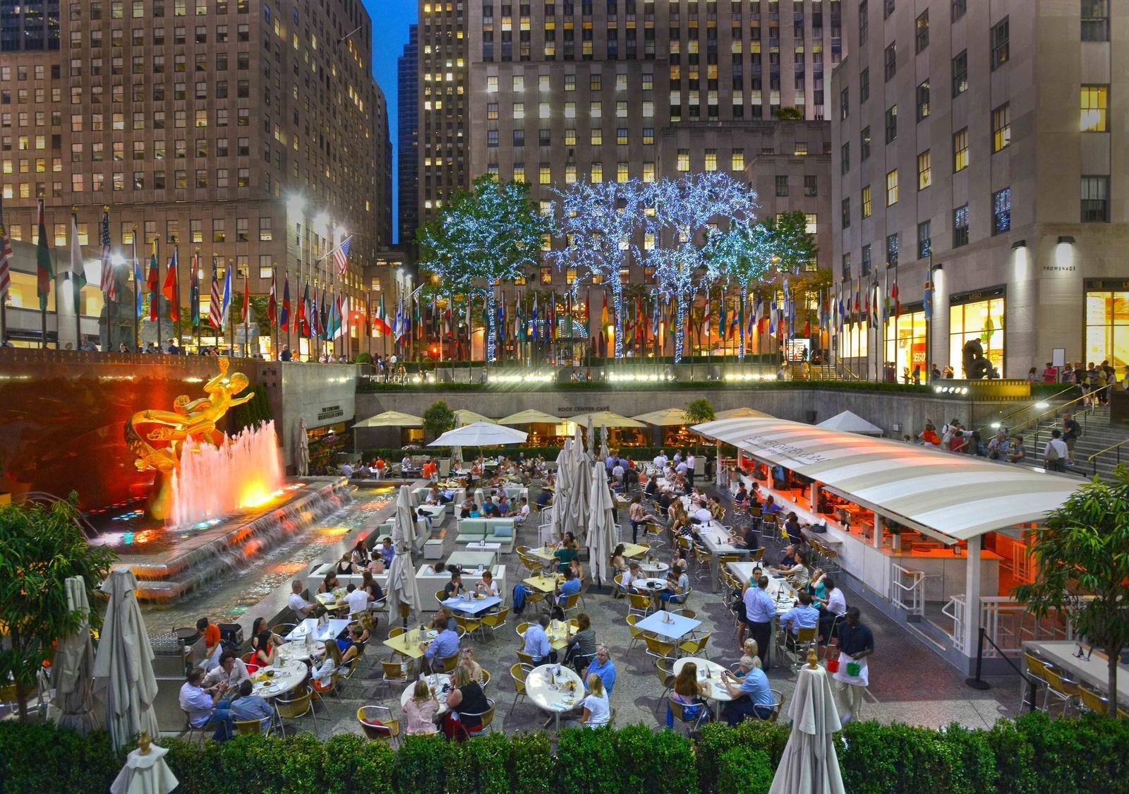 upscale restaurants near rockefeller center nyc