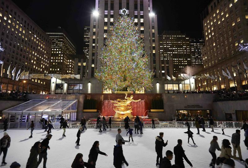 The Rink at Rockefeller Center in New York City
