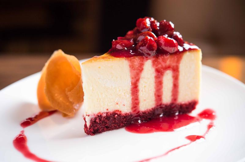 Cheesecake at STATE Grill and Bar, NYC