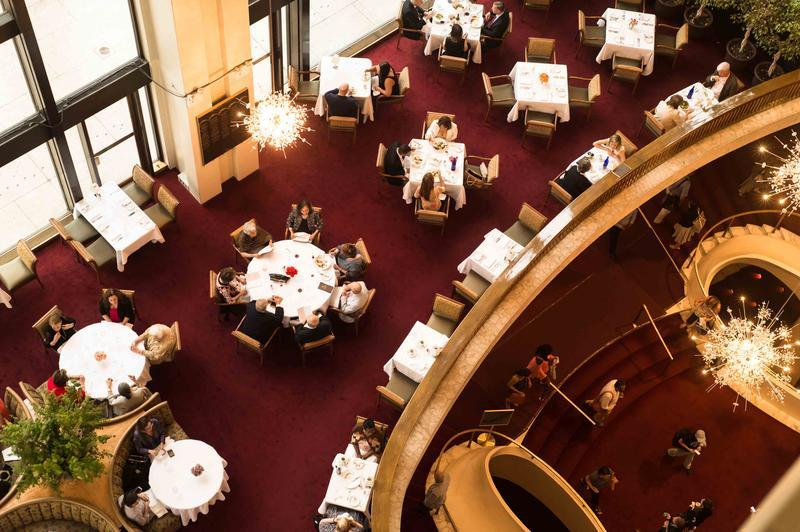 The Grand Tier Restaurant in NYC
