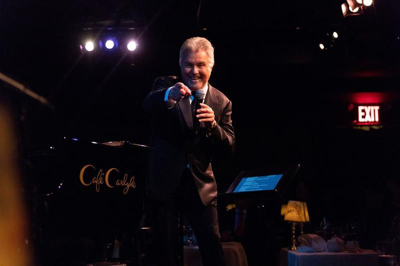 Steve Tyrell at The Cafe Carlyle