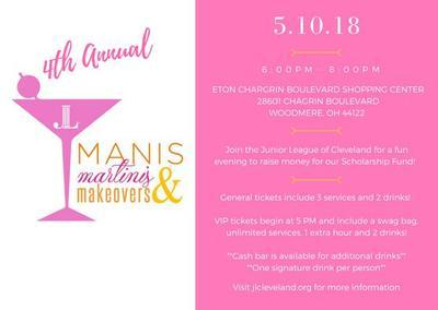4th Annual Manis, Martinis and Makeovers