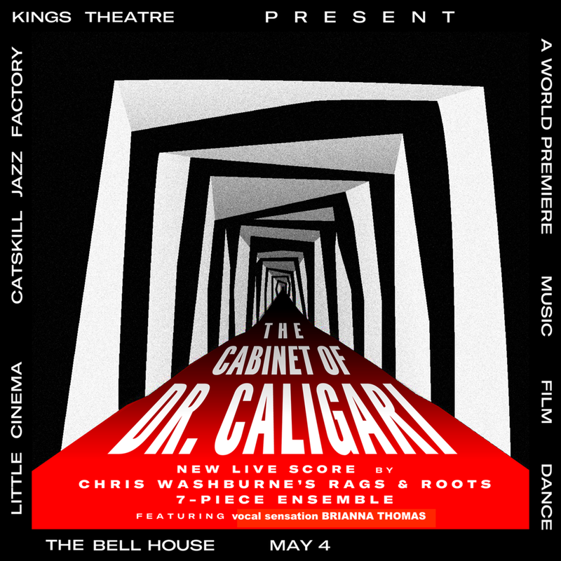 THE CABINET OF DR. CALIGARI featuring Chris Washburne and Rags and Roots with Brianna Thomas