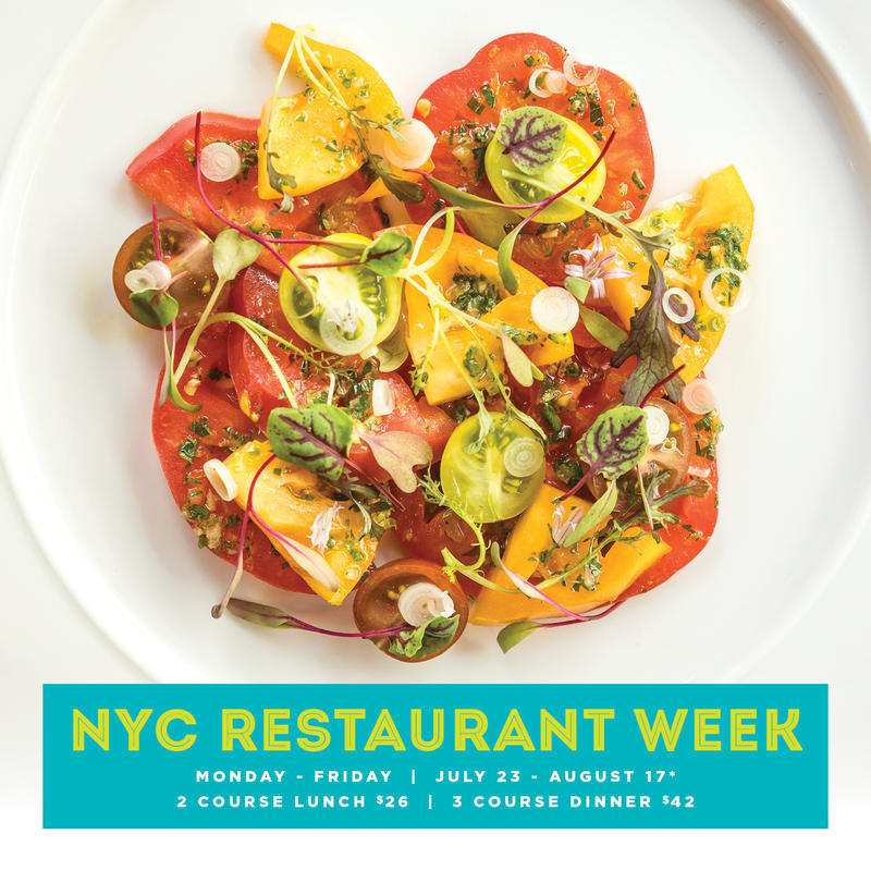 NYC Restaurant Week: Patina Restaurant Group Events