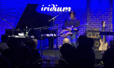 NYC Live Jazz: Stanley Jordan Concert at The Iridium
