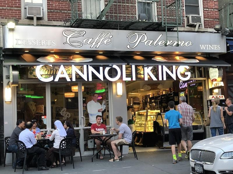 Caffe Palermo in Little Italy, New York City