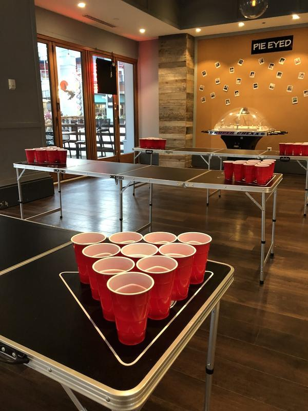 Pizza Bar Beer Pong