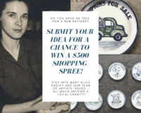 Submit your idea for a chance to win a $500.00 shopping spree