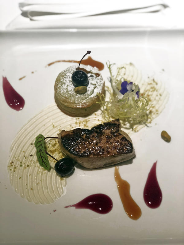 Cru Uncorked Seared Foie Gras