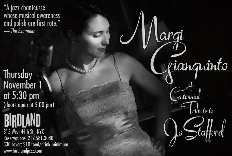 Margi Gianquinto, A Centennial Tribute to Jo Stafford