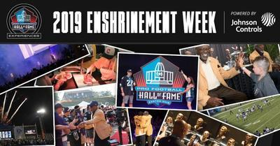 Pro Football HOF Enshrinement Week