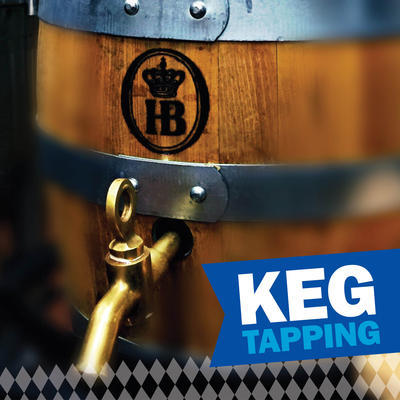 Monthly Seasonal Craft Bier Keg Tapping Celebration