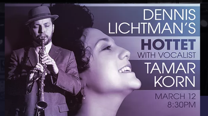 Dennis Lichtman Hottet with Tamar Korn @ Iridium
