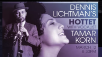 Dennis Lichtman Hottet with Tamar Korn @ Iridium           Follow @nyccitiview