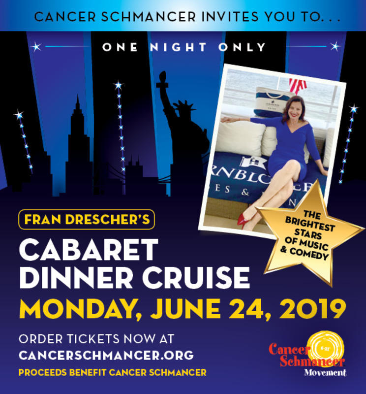 "Cabaret Dinner Cruise - A Benefit for ""Cancer Schmancer"""