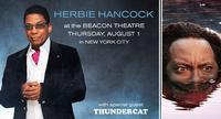 Herbie Hancock @ The Beacon Theater with special guest, Thundercat           Follow @nyccitiview