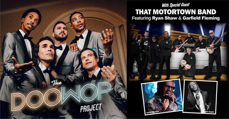 The Doo-Wop Project, featuring the Motortown Band @ Town Hall